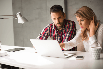 ondernemer helpen uit coronadip